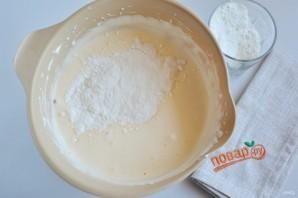 Праздничный торт с творожным кремом - фото шаг 3