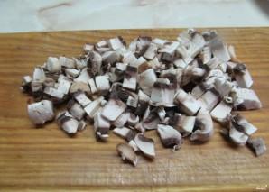 Картошка, фаршированная шампиньонами - фото шаг 1