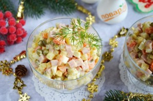 """Русский салат """"Оливье"""" - фото шаг 10"""