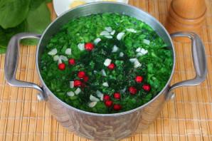 Суп с крапивой и шпинатом - фото шаг 7