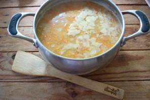 Гороховый суп с копченым окороком - фото шаг 7