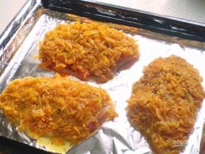 Тилапия с помидорами и сыром - фото шаг 8