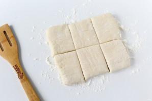 Конвертики с мясом и картошкой - фото шаг 5
