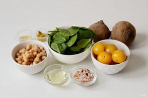 Салат из нута и свеклы - фото шаг 1
