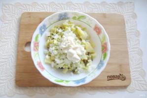 Салат со свининой и солеными огурцами - фото шаг 9