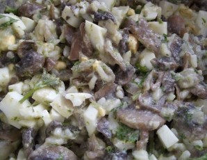 Пирожки с грибами и яйцом - фото шаг 6