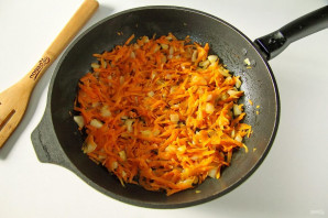 Макароны по-флотски с морковью - фото шаг 4