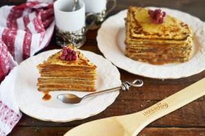 Курский блинный торт - фото шаг 6