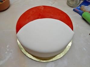 "Торт ""Энгри бердз"" - фото шаг 6"