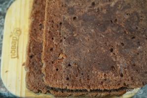"""Шоколадное пирожное """"Янчи"""" - фото шаг 8"""