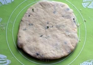 Очень простые сырные лепешки - фото шаг 8