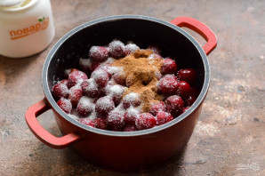 Варенье из вишни с корицей - фото шаг 3