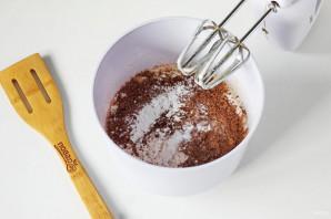 Шоколадно-банановые кексы - фото шаг 4