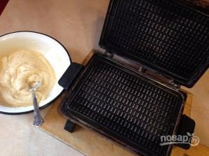 Рецепт вафельного теста для электровафельницы - фото шаг 6