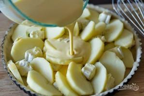 Тарт с яблоками и сыром - фото шаг 6