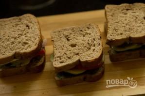 Горячий бутерброд с чатни - фото шаг 7
