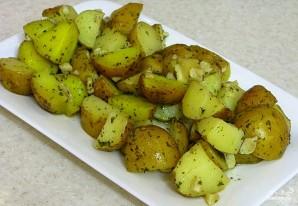 Картофель в рукаве в духовке - фото шаг 7