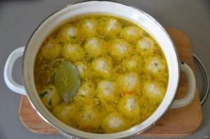 Куриный суп с сырными шариками - фото шаг 15