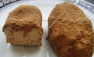 Пирожное картошка из творога - фото шаг 4