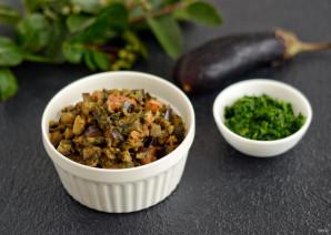 Баклажаны со шпинатом - фото шаг 6
