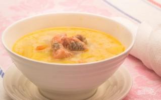 Сырный рыбный суп - фото шаг 7