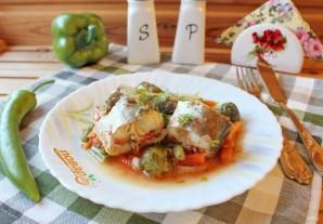 Диетическая рыба с овощами - фото шаг 10