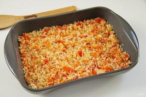 Минтай с рисом в духовке - фото шаг 8