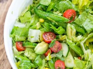 Мексиканский овощной салат - фото шаг 6