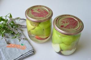 Яблоки в сиропе на зиму - фото шаг 5