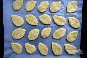 """Печенье """"Весенние листья"""" - фото шаг 3"""