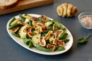 Салат с инжиром и авокадо - фото шаг 6