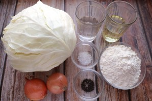 Молдавские пирожки с капустой - фото шаг 1