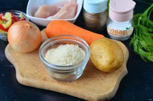 Диетический суп с рисом