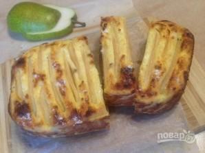Запеканка с бананом и грушей - фото шаг 10