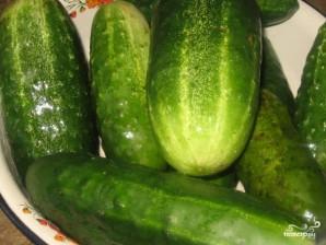 Огурцы в томатном соусе - фото шаг 1