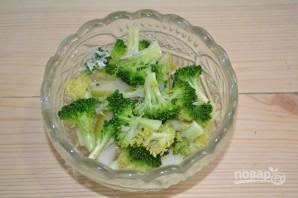 Салат с капустой и грушей - фото шаг 11
