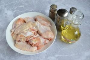 Жареные куриные крылышки на сковороде - фото шаг 1
