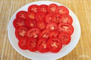 Острая закуска из помидоров с зеленью и сыром - фото шаг 4