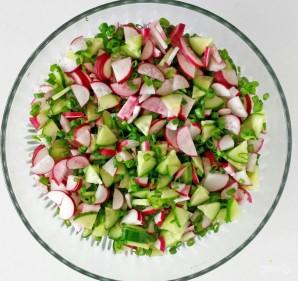 Салат на ужин - фото шаг 2
