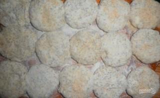 Низкокалорийные сырники в духовке - фото шаг 6