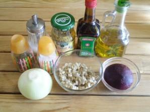Салат к котлетам - фото шаг 1