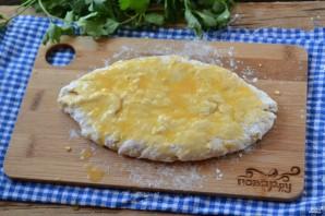 Сырные лепешки на кефире - фото шаг 6