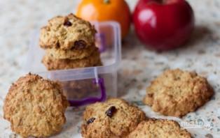 Простой рецепт овсяного печенья из овсяных хлопьев - фото шаг 5