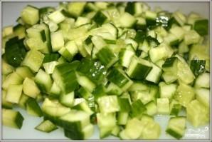 Салат из угря и раков - фото шаг 4