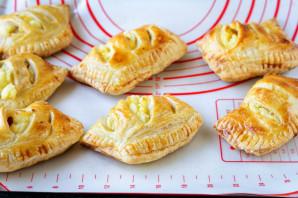 Пирожки с творогом в духовке - фото шаг 7