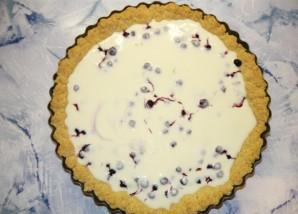 Черничный пирог со сливками - фото шаг 3