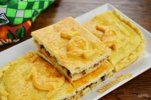 Домашний пирог с мясом утки - фото шаг 12