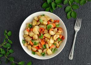 Картошка в рукаве с овощами - фото шаг 6