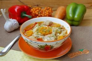 """Суп """"Кесме"""" по-киргизски - фото шаг 11"""