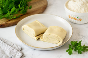 Веганское слоеное тесто